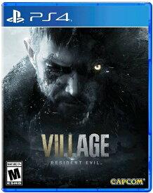 PS4 Resident Evil Village 北米版[新品]5/7発売