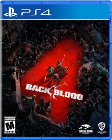PS4 Back 4 Blood 北米版[新品]10/12発売
