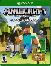 XboxONE Minecraft:Favorites Pack 北米版[新品]