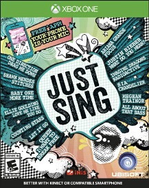 XboxONE Just Sing(ジャストシング 北米版)〈Ubisoft〉