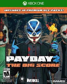 XboxONE Payday 2:The Big Score(ペイデイ2 ビッグスコア 北米版)〈505Games〉