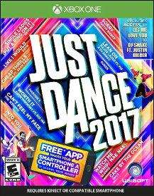 XboxONE JUST DANCE 2017 (ジャストダンス2017 北米版)〈Ubisoft〉