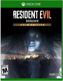 XboxONE Resident Evil 7 Biohazard Gold Edition(レジデントエビル7 バイオハザードゴールドエディション 北米版)〈Capcom〉[新品]