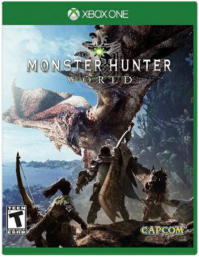 [特価]XboxONE Monster Hunter World US(モンスターハンターワールド 北米版)〈Capcom〉[新品]