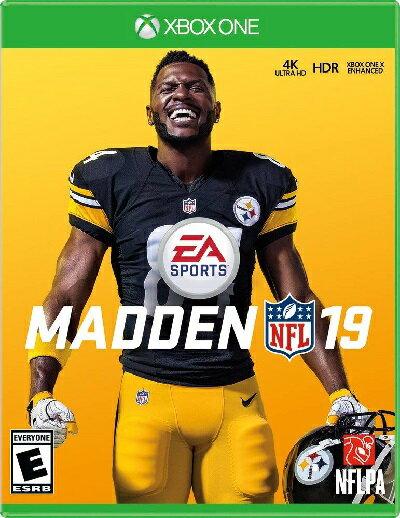 XboxONE Madden NFL 19(マッデンNFL 19 北米版)〈Electronic Arts〉[新品]