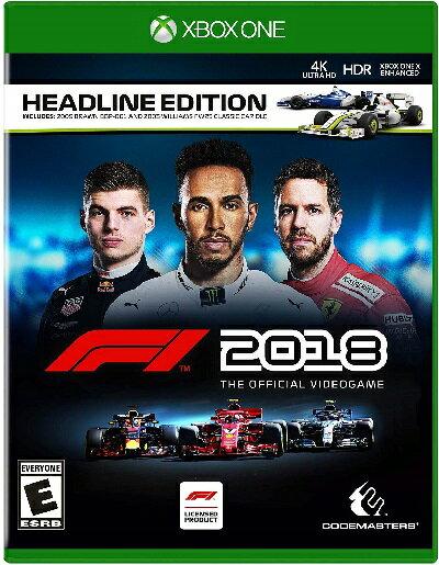 XboxONE F1 2018(エフワン2018 北米版)〈Deep Silver〉[新品]