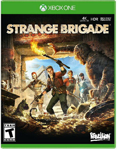 XboxONE Strange Brigade(ストレンジブリゲード 北米版)〈Sold Out〉[新品]