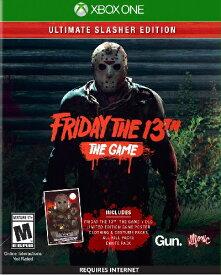 XboxONE Friday The 13th:The Game Ultimate Slasher Edition US(フライデー13thゲーム アルティメットスラッシャーエディション 北米版)〈Gun Media〉[新品]