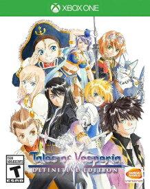 XboxONE Tales of Vesperia-Definitive Edition-US(テイルズオブべスぺリア デフィニティブエディション 北米版)〈Bandai〉[新品]