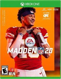 XboxONE Madden NFL 20(マッデンNFL 20 北米版)[新品]