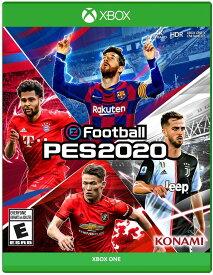 XboxONE eFootball PES 2020(プロエボリューションサッカー2020 北米版)[新品]