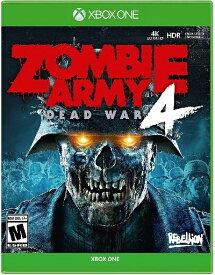 XboxONE Zombie Army 4 Dead War 北米版[新品]