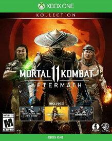 XboxONE MORTAL KOMBAT 11:AFTERMATH KOLLECTION 北米版[新品]