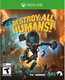 XboxONE Destroy All Humans! 北米版[新品]7/28発売