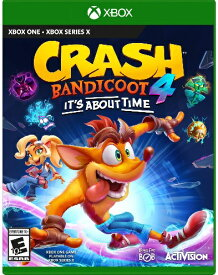 XboxONE CRASH BANDICOOT 4:IT'S ABOUT TIME 北米版[新品]10/2発売