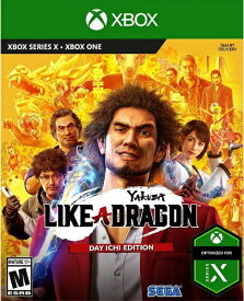 XboxONE Yakuza: Like a Dragon - Day Ichi Edition 北米版[新品]11/10発売