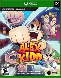 XboxSeriesX/XboxONE Alex Kidd In Miracle World Dx 北米版[新品]6/29発売