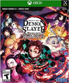 XSX/XONE Demon Slayer - Kimetsu no Yaiba: The Hinokami Chronicles 北米版[新品]10/15発売