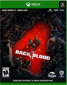 XSX/XONE Back 4 Blood 北米版[新品]10/12発売