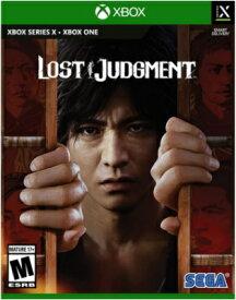 XSX/XONE Lost Judgment 北米版[新品]