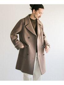 [Rakuten Fashion]メルトンダブルコート URBAN RESEARCH アーバンリサーチ コート/ジャケット ピーコート ベージュ ネイビー ブラウン【送料無料】