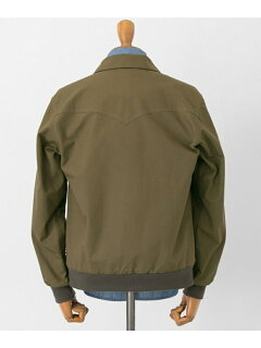 Freemans Sporting Club Coach Jacket STYLE2-UF84: Green Ripstop