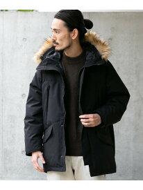 [Rakuten Fashion]【SALE/50%OFF】TCシェルフードダウンコート URBAN RESEARCH アーバンリサーチ コート/ジャケット ダウンジャケット ブラック ベージュ【RBA_E】【送料無料】
