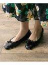 [Rakuten Fashion]【SALE/30%OFF】スクエアトゥバレエシューズ URBAN RESEARCH アーバンリサーチ シューズ バレエシューズ ゴールド ブラック シルバー パープル