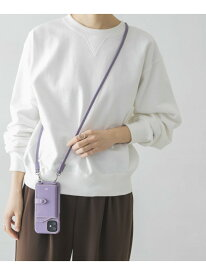 【WEB限定】tov ショルダーiphonecase 12 URBAN RESEARCH アーバンリサーチ ファッショングッズ 携帯ケース/アクセサリー パープル ブラウン【送料無料】[Rakuten Fashion]