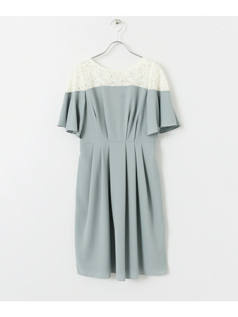 URBAN RESEARCH COUTURE MAISON レースショルダーワンピース アーバンリサーチ【送料無料】