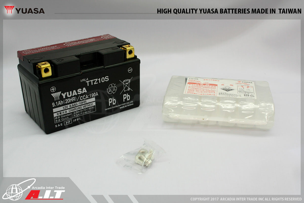 ajito 台湾ユアサ YUASA 初期充電済! 即使用可能! TTZ10S◆YTZ10S FTZ10S DTZ10S VTZ10S 互換 バッテリー バイク用 マジェスティ250 4D9 ドラッグスター400 VH02 マグザム YZF-R1 T-MAX500 NINJA ZX-10R フォルツァ MF06 MF08 MF10 フェイズ PS250 格安