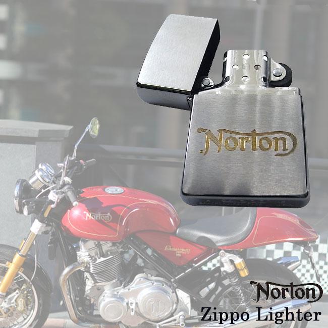 【ajito】Norton ノートン Zippo Lighter ジッポ ライター メンズ 正規取扱マーチャンダイズアイテム バイク
