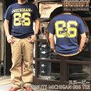 BUDDY×SNOOPY PEANUTS MICHIGAN #86 別注 Tシャツ バディ スヌーピー 半袖 ピーナツ アメリカンフットボール アメフト 70's SCHULZ ネ…
