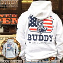 BUDDY × JERZEES Indian Statue of Liberty RUSSELL ニューヨーク 自由の女神 インディアン スウェット パーカー ラッセルジャージー…