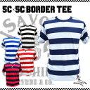 SAVOY CLOTHING サヴォイクロージング 5C×5C ボーダー Tシャツ 半袖 ロカビリー ファッション ロック パンク 原宿 ヴィンテージ ビン…
