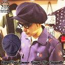 SAVOY CLOTHING Navy&Red Kimono Kasuri Big Casquette ネイビー レッド キモノ カスリ ビッグ キャスケット サヴォイクロージング キ…