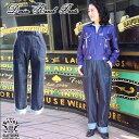 SAVOY CLOTHING Ladies Denim Ranch Pants デニム ランチ デニム パンツ ワイド バギー ハイウエスト レディース サヴォイクロージング…