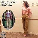 SAVOY CLOTHING Heavy ChinoCloth Ranch Pants ヘビー チノ クロス ランチ パンツ ワイド バギー ハイウエスト レディース サヴォイク…