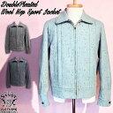 SAVOY CLOTHING DoublePleated Wool Nep Sport Jacket サヴォイクロージング ダブル プリーツ ウールネップ スポーツ ジャケット ブル…