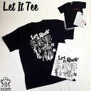 SAVOY CLOTHING Let It Tee For Kool ROCK ウエスタンガール メッセージ リップスティック バックプリント ロゴ Tシャツ アイテム 半袖…