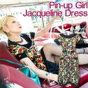 SAVOY CLOTHING サヴォイクロージング Pin-upGirl Jacqueline Dress ピンナップガール ジャクリーン ワンピース ロック ロカビリー パ…