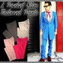 SAVOY CLOTHING L Pocket Slim Tailored Pants スリム テーラード パンツ ストレート セットアップ サヴォイクロージング メンズ ボト…