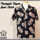 SAVOY CLOTHING Pineapple Rayon Open Shirts パイナップル レーヨン オープン シャツ サヴォイクロージング 50'S 半袖 アロハ ロカビ…