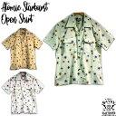 SAVOY CLOTHING Atomic Starburst Open Shirts アトミック スターバースト オープン シャツ 半袖 サヴォイクロージング 50'S ロカビリ…