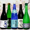 ポイント5倍+キャッシュレス5%還元 日本酒飲み比べ720/5本セット 越乃寒梅・黒龍・梅乃宿・繁桝・肥前蔵心 華やかな香り・味 のど…