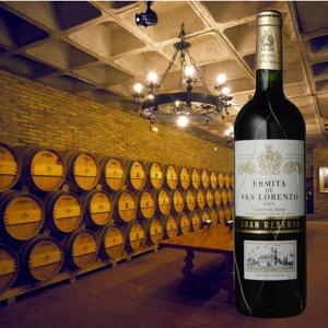 ◆【送料無料】20周年記念・二十歳の御祝名入エッチングセット/ワイン・ワイングラス各1ワイングラスMエルミータ・デ・サン・ロレンソグラン・レセルバ1996成人祝にも♪【誕生日のお祝い】
