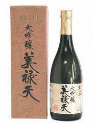 杵の川 美禄天 大吟醸 720ml【 お酒】長崎