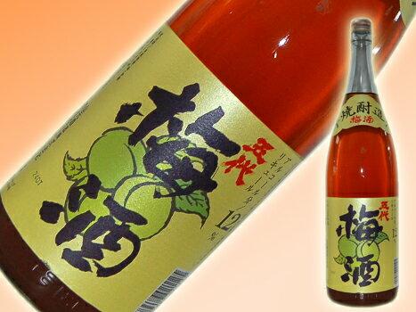 さつま五代 梅酒 (12゜)1800ml【一升瓶自由組合6本ごとに一個口で北海道・沖縄500円でOK その他地域送料無料】