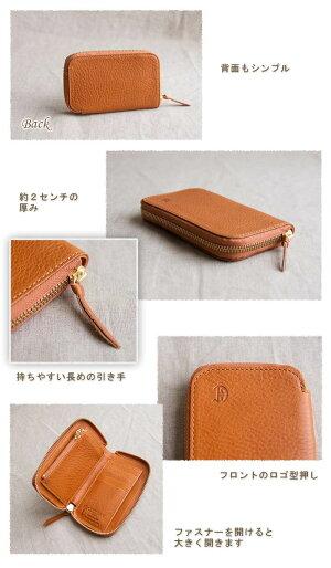 f5ad13e14ac9 送料無料CLEDRANクレドラン財布レディース二つ折り革財布レザーウォレットラウンドジップDEBORR/