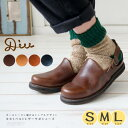 [9/30 23:59迄 P5倍]DIU デュウ ディウ サンダル シューズ レザー 革靴 サボ レディース ファッション 服 ナチュラル …